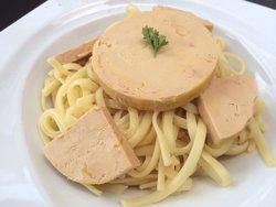 Foie gras linguine