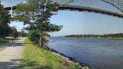 The Cape Cod Canal Bikeway