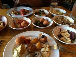 Mezze at the Green Dragon
