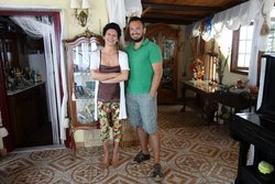 Your hosts Maro & Kosmas