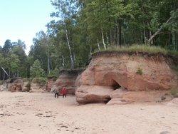 Veczemju Mantinu Cliffs
