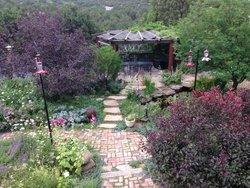 The Garden and Gazebo at Ravens Ridge