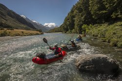 Expedition X - Packrafting New Zealand - Queenstown