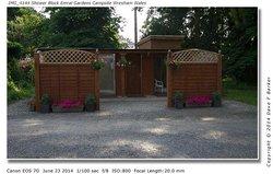 Shower Block  Emral Gardens Campsite Wrexham wales
