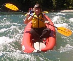 Inflatable Kayaking for all ages!