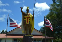 The Original King Kamehameha Statue