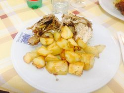 Pollo arrosto con patate! Squisito!!!