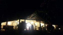 Reception area night time