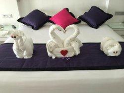 Towel Sculptures 2