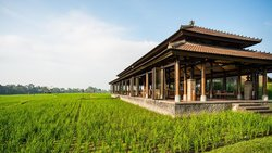 The Restaurant at The Chedi Club Tanah Gajah
