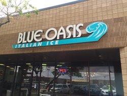 Blue Oasis Italian Ice