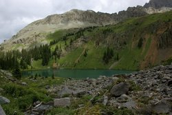 Blue Lakes Trail