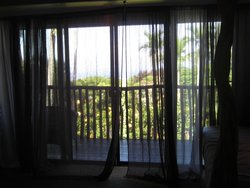 the airy curtains...