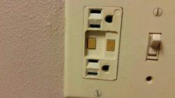 Broke plug in
