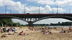 Vistula River Beach