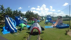 Big Bula Inflatable Water Park