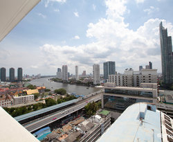 The Chao Praya Grand Suite with Balcony at the Centre Point Silom