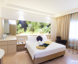 The Deluxe King Room at the ANSA Kuala Lumpur