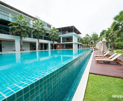 The Main Pool at the Wyndham Sea Pearl Resort Phuket