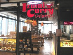 Izumi curry Hyson Place