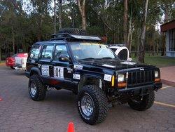 Club Montero 4X4 en la Ruta de Mujeres 6 Octubre del 2006.