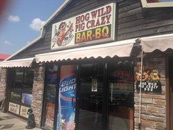 Hog Wild Pig Crazy Bar-BQ