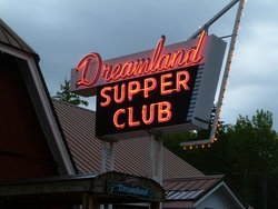 Classic Neon  Dreamland Supper Club - South Range WI