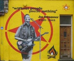 Joe Strummer Mural London