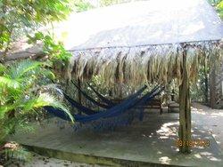 Hammock Area in the Lodge