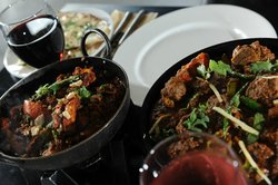 Enjoy exclusive smokey Indian wine with your fresh curry
