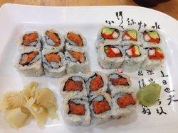Matsutake Sushi