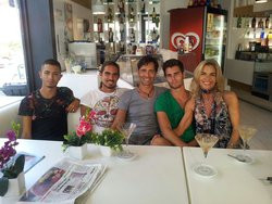 Famiglia Serra-Giordano al completo
