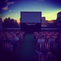 Rooftop Drive-In Film Club
