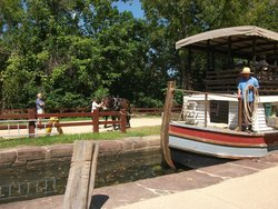 Great Falls Canal Boat Ride
