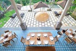 Cafe Luwak at Luwak Ubud Villas