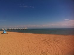 """Пляж пансионата """"Радуга"""". Супер!"""