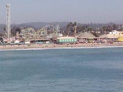 The boardwalk from pier