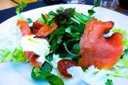 insalata salmone