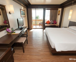 The Deluxe Sea View Room at the Kata Beach Resort and Spa