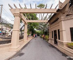 Entrance at the Kata Beach Resort and Spa