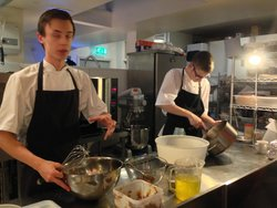hot marmalade pudding souffle lessons