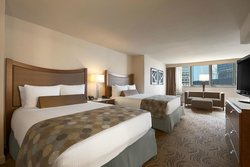 Two Queen Riverview Guest Room