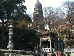 Cloud Rock Leaning Pagoda (Yunyan Ta)