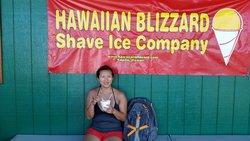 Hawaiian Blizzard Shave Ice