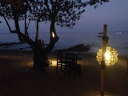 International Beachfront Restaurant at Taman Sari Bali Resort & Spa