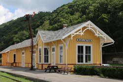 ‪Marlinton Railroad Depot‬