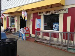 The Video Shoppe and Ice Cream Shoppe Take-out