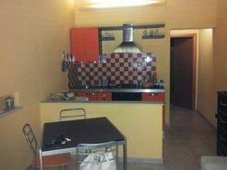 La cucina/soggiorno