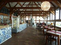 Cafe in der Pfarrscheune