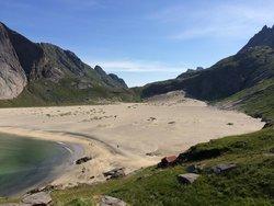 Bunes Beach, Lofoten Islands, Norway